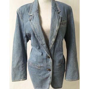 Vintage Jean Blazer Size 12